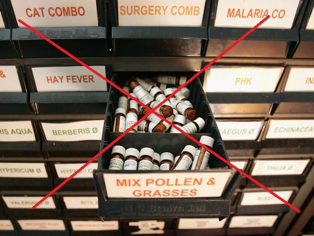 homeopathy ban by NHS