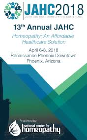 The 13th Annual Joint American Homeopathic Conference (JAHC)