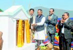 Manipur Health and Family Welfare Minister L Jayantakumar Singh; Dr A Guneshwor Sharma