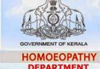 homoeopathy, Kerala