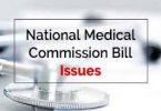 NMC Bill, issues