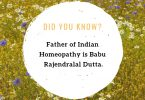 Father of Indian Homeopathy