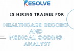 Healthcare Record and Medical Coding Analyst