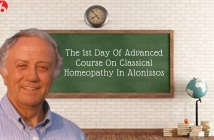 The 1st Day Of Advanced Course On Classical Homeopathy In Alonissos