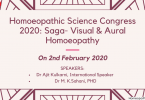 Homoeopathic Science Congress 2020: Saga- Visual & Aural Homoeopathy