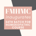 FMHMC Inaugurates 34th Batch For Homoeopathic Course