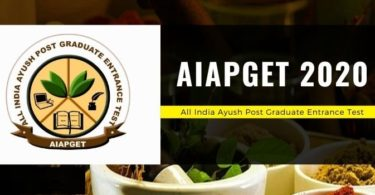 Aiapget 2020 Exam Date, Schedule, Notification, Admit Card, Eligibility, Application Form, Result